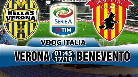 Nhan dinh Verona vs Benevento 01h45 ngay 1710 (Serie A 201718) hinh anh