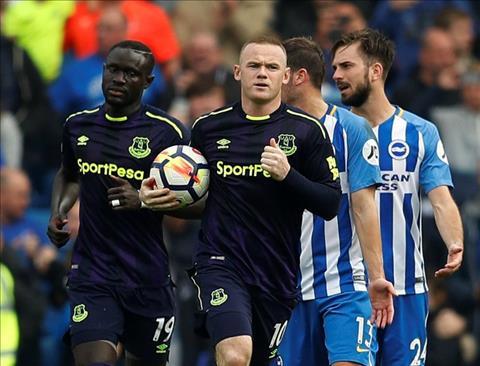 Rooney dat cot moc an tuong sau tran gap Brighton hinh anh