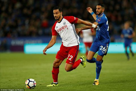 Tong hop Leicester 1-1 West Brom (Vong 8 NHA 201718) hinh anh