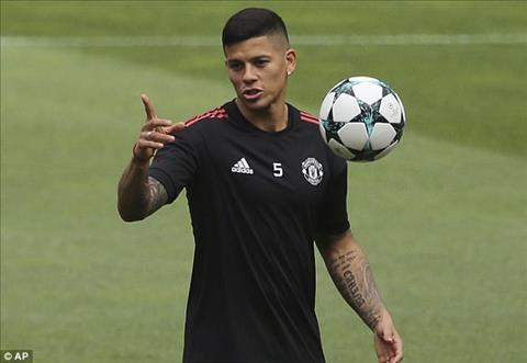 HLV Mourinho bao tin mung ve chan thuong cua Marcos Rojo hinh anh