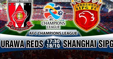 Nhan dinh Urawa Reds vs Shanghai SIPG 17h30 ngay 1810 (AFC Champions League 2017) hinh anh