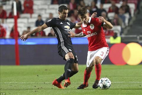 Benfica da bo tay trong ca tran dau truoc loi choi kho chiu cua Man Utd