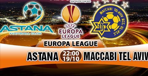 Nhan dinh Astana vs Maccabi Tel Aviv 22h00 ngay 1910 (Europa League 201718) hinh anh