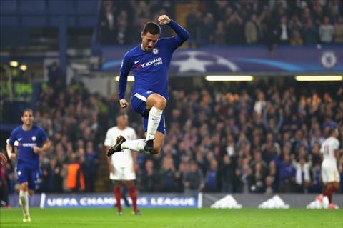 Hazard that vong vi Chelsea bi Roma cam hoa hinh anh