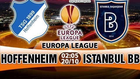 Nhan dinh Hoffenheim vs Istanbul BB 02h05 ngay 2010 (Europa League 201718) hinh anh