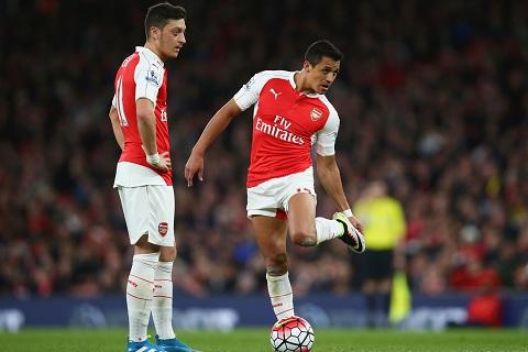 Arsenal can loai ca Sanchez va Ozil khoi tran derby hinh anh
