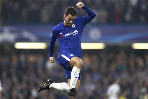 Hazard tin Chelsea van con cua vo dich Premier League hinh anh