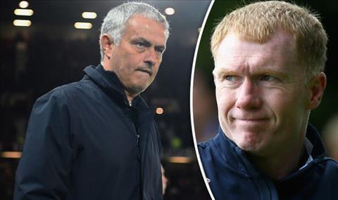 Huyền thoại Paul Scholes chỉ trích HLV Jose Mourinho của MU hình ảnh