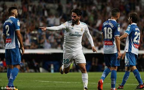 Tong hop Real Madrid 2-0 Espanyol (Vong 7 La Liga 201718) hinh anh
