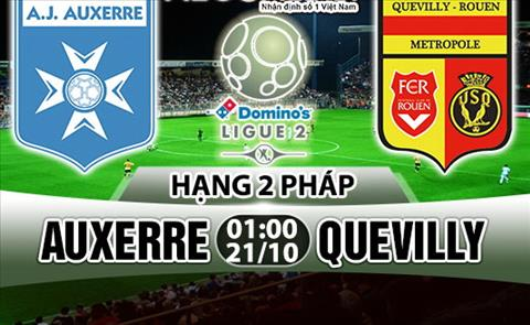 Nhan dinh Auxerre vs Quevilly 01h00 ngay 2110 (Hang 2 Phap 201718) hinh anh