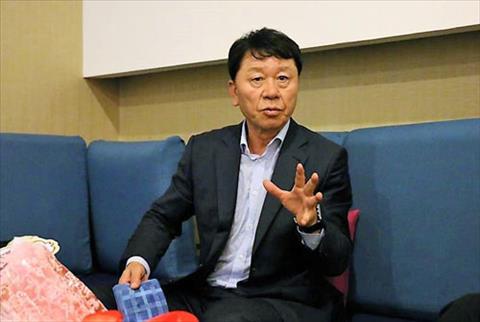 HLV Chung Hae Soung cảm ơn HAGL sau chuỗi trận toàn thắng của TP hình ảnh