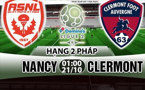 Nhan dinh Nancy vs Clermont 01h00 ngay 2110 (Hang 2 Phap 201718) hinh anh