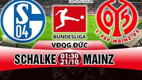Nhan dinh Schalke vs Mainz 01h30 ngày 2110 (Bundesliga 201718) hinh anh
