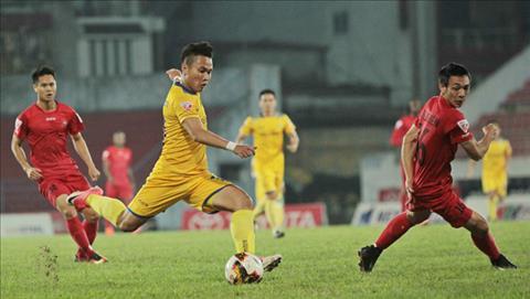 Tong hop: SLNA 2-3 Hai Phong (Vong 22 V-League 2017)