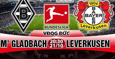 Nhan dinh Gladbach vs Leverkusen 20h30 ngay 2110 (Bundesliga 201718) hinh anh
