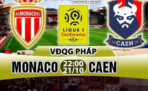 Nhan dinh Monaco vs Caen 22h00 ngay 2110 (Ligue 1 201718) hinh anh