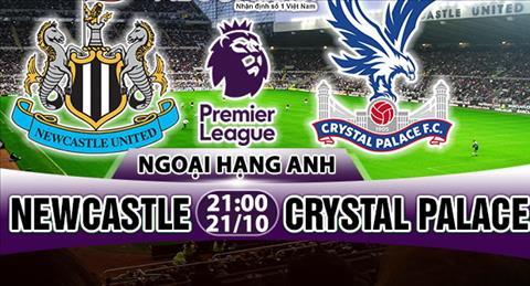 Nhan dinh Newcastle vs Crystal Palace 21h00 ngày 2110 (Premier League 201718) hinh anh