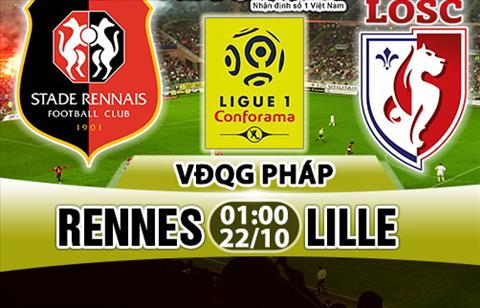 Nhan dinh Rennes vs Lille 01h00 ngay 2210 (Ligue 1 201718) hinh anh