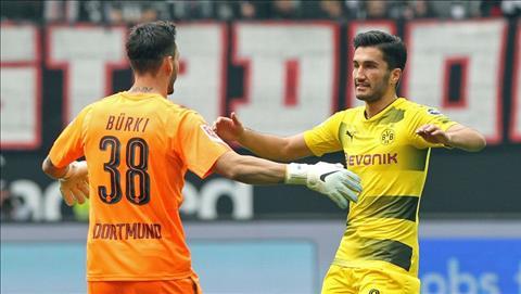 Frankfurt 2-2 Dortmund Tran hoa that vong hinh anh
