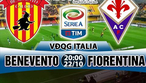 Nhan dinh Benevento vs Fiorentina 20h00 ngay 2210 (Serie A 201718) hinh anh