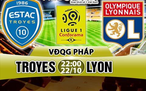Nhan dinh Troyes vs Lyon 22h00 ngày 2210 (Ligue 1 201718) hinh anh