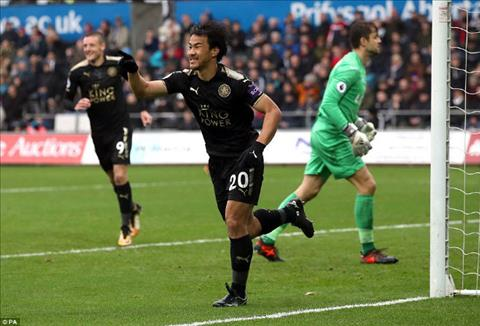 Tong hop Swansea 1-2 Leicester (Vong 9 NHA 201718) hinh anh