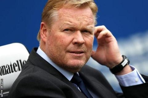 HLV Koeman lan dau len tieng sau khi bi Everton sa thai hinh anh