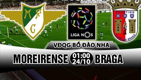 Nhan dinh Moreirense vs Braga 01h00 ngay 2410 (VDQG Bo Dao Nha 201718) hinh anh