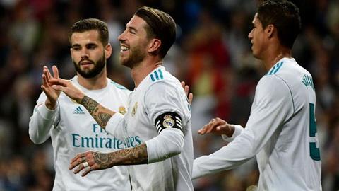 Real Madrid 3-0 Eibar: Niem vui an chua noi lo