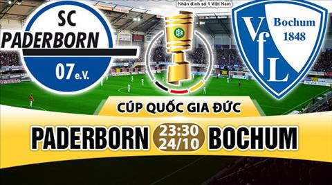 Nhan dinh Paderborn vs Bochum 23h30 ngay 2410 (Cup quoc gia Duc 201718) hinh anh