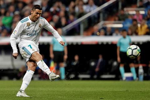 Cristiano Ronaldo moi ghi 1 ban tai La Liga tu dau mua.