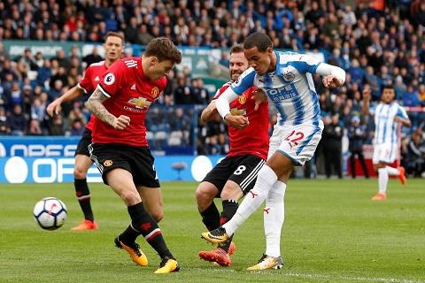 Victor Lindelof vs Huddersfield
