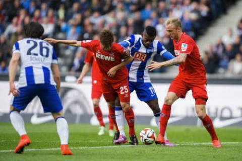 Nhan dinh Hertha Berlin vs Cologne 23h30 ngay 2510 (Cup quoc gia Duc 201718) hinh anh