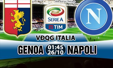 Nhan dinh Genoa vs Napoli 01h45 ngay 2610 (Serie A 201718) hinh anh