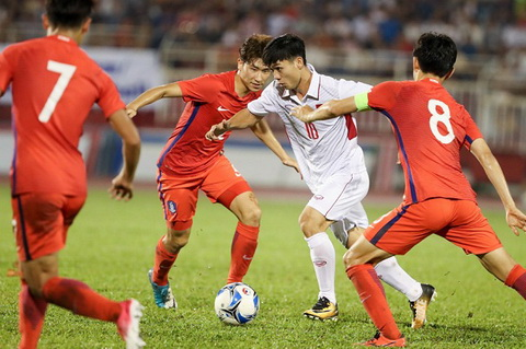 U23 Viet Nam cham tran doi thu cuc manh truoc them VCK U23 chau A 2018 hinh anh