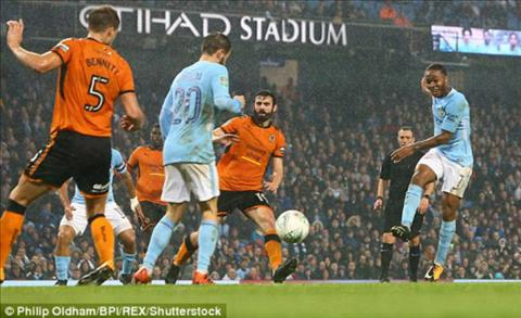 Tong hop Man City 0-0 (pen 4-1) Wolves (Cup Lien doan Anh 201718) hinh anh