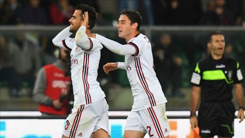 Tong hop Chievo 1-4 AC Milan (Vong 10 Serie A 201718) hinh anh
