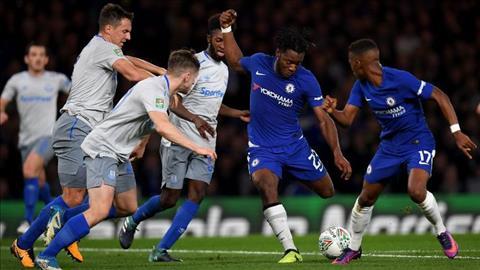 Conte Batshuayi da san sang xuat phat cho Chelsea hinh anh