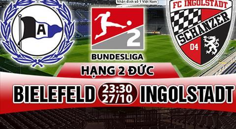 Nhan dinh Bielefeld vs Ingolstadt 23h30 ngay 2710 (Hang 2 Duc 201718) hinh anh