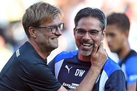 Klopp chia se ve tinh ban xuc dong voi HLV Huddersfield hinh anh