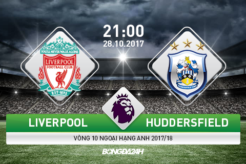 Liverpool vs Huddersfield (21h ngay 2810) Bat nat tan binh hinh anh