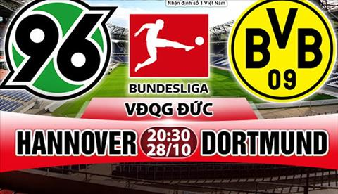 Nhan dinh Hannover vs Dortmund 20h30 ngay 2810 (Bundesliga 201718) hinh anh