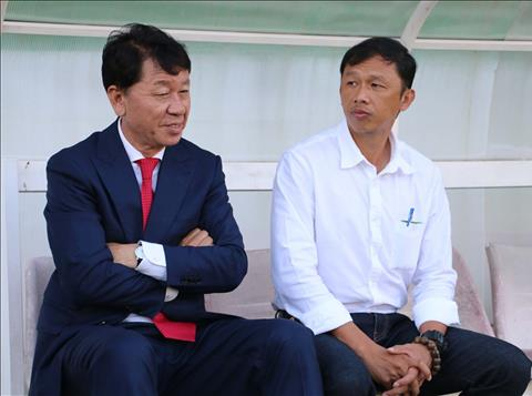 HLV HAGL ngoi ca tai nang cua GDKT Chung Hae-soung sau thang loi truoc Ha Noi hinh anh