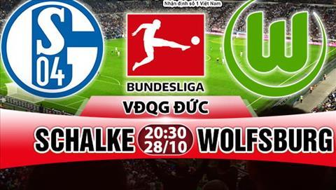 Nhan dinh Schalke vs Wolfsburg 20h30 ngay 2810 (Bundesliga 201718) hinh anh