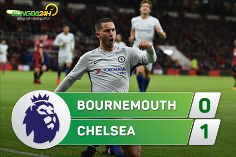 Tong hop Bournemouth 0-1 Chelsea (Vong 10 NHA 201718) hinh anh