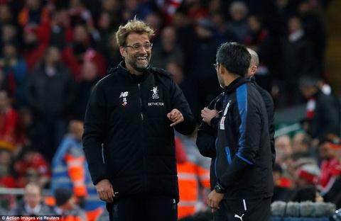Liverpool 3-0 Huddersfield Cho mung qua som, Jurgen Klopp hinh anh 2