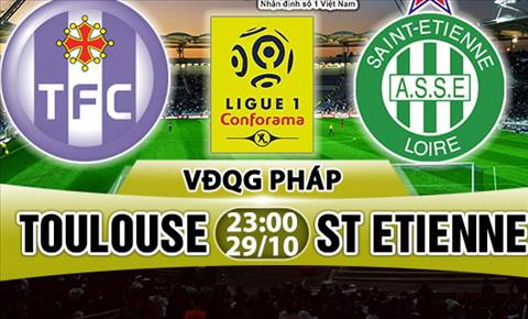Nhan dinh Toulouse vs StEtienne 23h00 ngay 2910 (Ligue 1 201718) hinh anh