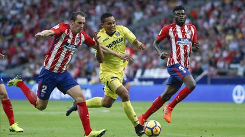 Tong hop Atletico Madrid 1-1 Villarreal (Vong 10 La Liga 201718) hinh anh