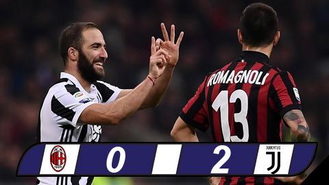 AC Milan 0-2 Juventus Sat thu Higuain tieu diet gon Rossoneri hinh anh