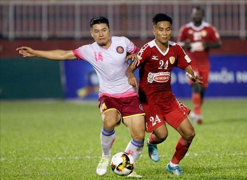 Tong hop TPHCM 1-3 Sai Gon (Vong 23 V-League 2017) hinh anh